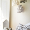Handcrafted Origami-Inspired Lampshade Adding a Stylish Touch Where Needed
