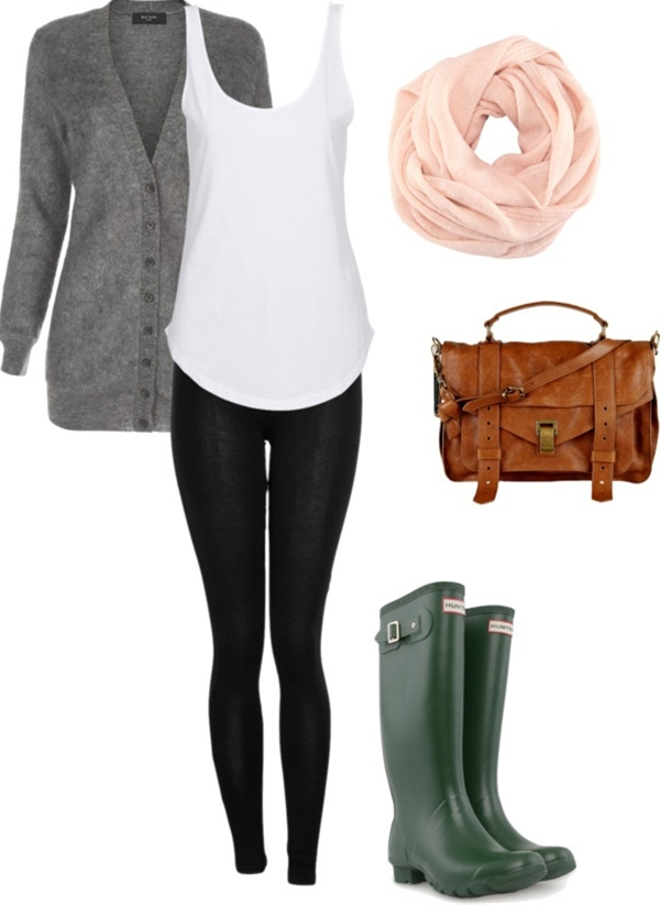 """rainy day"" by lauren-35 on Polyvore- definitely something other than the boots."