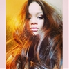 Rihanna Reveals Chestnut Brown Hair Color