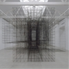 Antony Gormley occupies Parisian gallery with monumental metal sculptures
