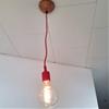 Blanda Matt serving bowl to ceiling light canopy hack