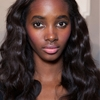 """ Tami Williams backstage @ Emilio Pucci SS15 """