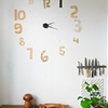 DIY: Vintage Paper Cutout Wall Clock