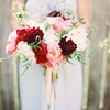 22 Peony Filled Bouquets