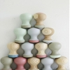 DIY: Painted Pastel Knobs