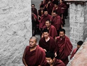 """After The Debate""Sera Monastery - Tibet by James Smorthwaite..."