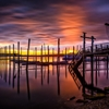 Shining Through the RainStony Brook Harbor Long Island New...