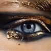 best metallic eye looks