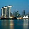 "Marina Bay Sands offers ""a new kind  of public realm"" says Moshe Safdie"