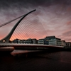 Surprise sunset in Dublin tonight between the showers. by Jim...
