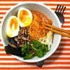 Quick Kimchi Ramen With Shiitake Mushrooms and Soft-Cooked Egg