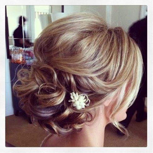 Perfect hairstyle for wedding