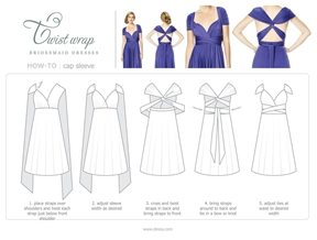 An Easy Way To Have All Different Bridesmaid Dresses