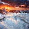 Angry Ocean by Jasmine Zhu