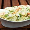 Japanese Potato Salad With Cucumbers, Carrots, and Red Onion