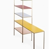High/Low: Color-Blocked Shelving