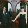 Modern Philadelphia Wedding with a Black Gown