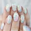 ✨🌟🌈Pastel Rainbow glitter inlay fer mahself!💁🌈🌟✨www.nailpopllc.com (at ✨🌈shop link in bio🌈✨)