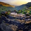 Natural PerfectionA giant panorama of the epic chasm valley of...