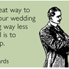 One great way to make your wedding planning way less stressful is to break up.