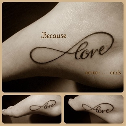 Infinity Love - love this!