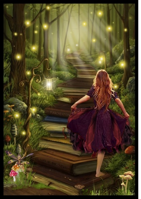"""""""Following The Reader's Path"""" by kat-joy ❤ liked on Polyvore"""