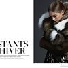 Samantha Gradoville Bundles Up in Fur for L'Officiel Mexico