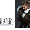 Samantha Gradoville Bundles Up in Fur for L'Officiel Mexico