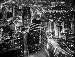 """""""Istanbul Night Shot #1""""Shot from top the Sapphire Tower in..."""