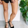 QUICK DIY: LACE UP POINTED FLATS