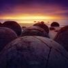 Moeraki Boulders by Tarik AlTurki