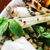 Grilled Vegetables with Mint Yogurt Sauce