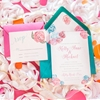 Bright, Bold Pink and Teal Wedding Ideas