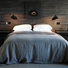 11 Wood-Paneled Walls as Headboards