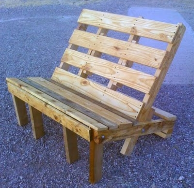 Love this and the other up-cycling uses for pallets!