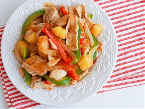 Stir-Fried Sweet and Sour Pork