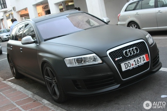 Audi RS6. Fastest family car in the world.