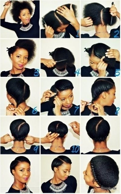 A New Ways To Style Your Natural Hair