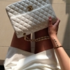 wandelion: Zara skort, Chanel bag