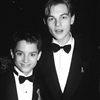 Elijah and Leo at the 66th Academy Awards 20 years ago