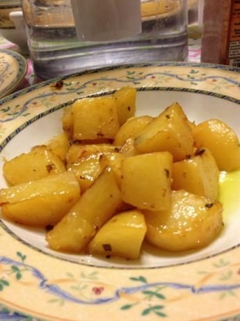 Greek Lemon Potatoes - I made these last night, everyone loved them! The only change I made was to marinate them overnight, and add some rosemary.