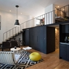 Mexican Apartment Marrying Black and White in Crisp Design