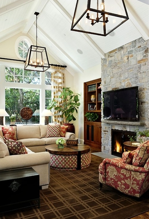 LOVE vaulted ceilings