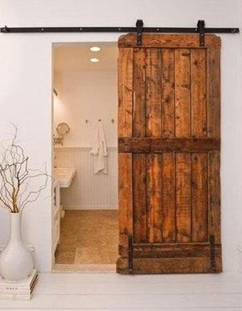 """door between master bedroom and bath...ideas for """"someday"""""""