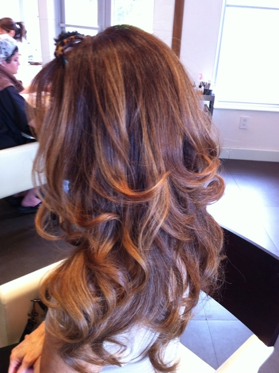 layered and wave it by Miriam Meza, Safar coiffure, South Beach.