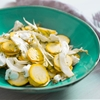 Summer Squash Salad With Goat Cheese, Fennel, and Dill