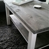 A Rustic LACK coffee table