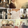 Sun Bleached Lace Wedding Inspiration Board