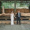 Orcas Island Wedding at a Sawmill