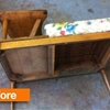 Before & After: Gossip Bench Breakdown